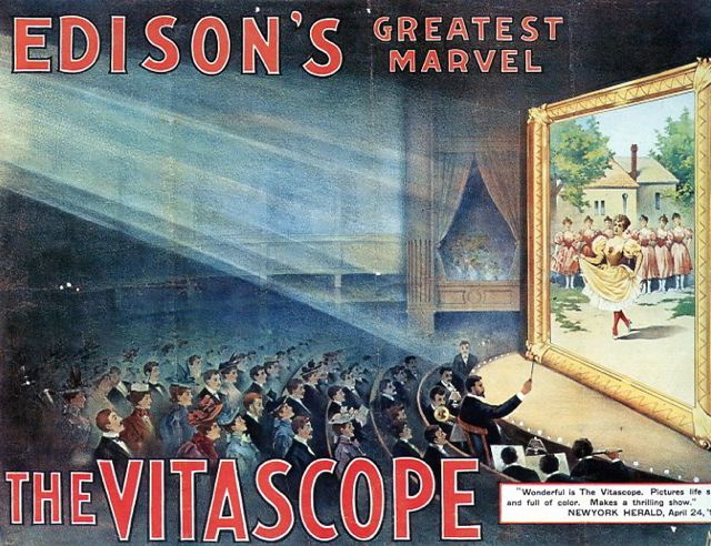 Poster for Edison's Vitascope