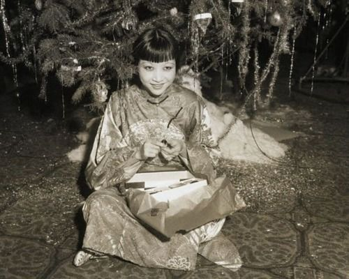 The great Anna May Wong was the first Asian female star. I strongly recommend the silent classic Piccadilly (1929) to get a sense of her genius.