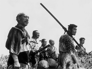 The Seven Samurai, 1954, the greatest movie ever made.