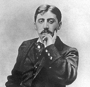 French author Marcel Proust fought a duel not with a pen, but a gun.