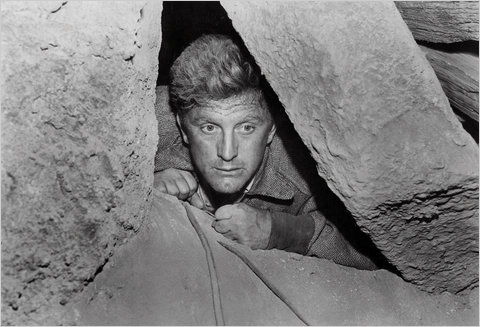 Kirk Douglas in Ace in the Hole, 1951.