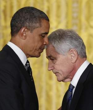 Obama and his his new Jeremiah Wright.