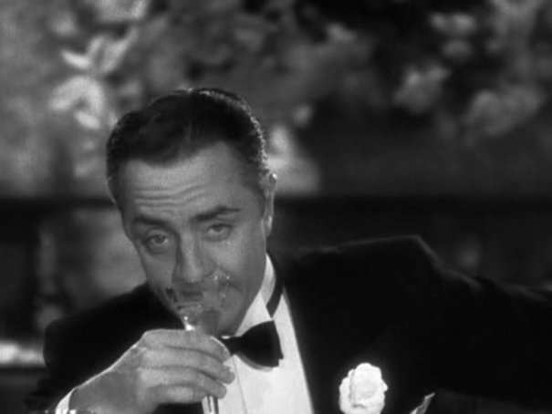 "William Powell in ""The Thin Man"" did not drink kosher wine but what the heck we like the picture."
