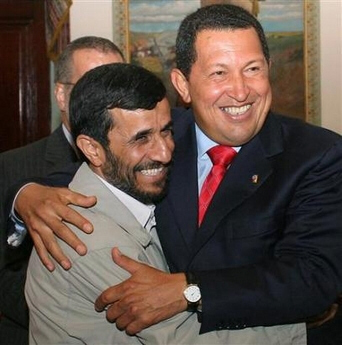 Chavez fully supported the Iranian regime that has vowed genocide on the the Jewish state.