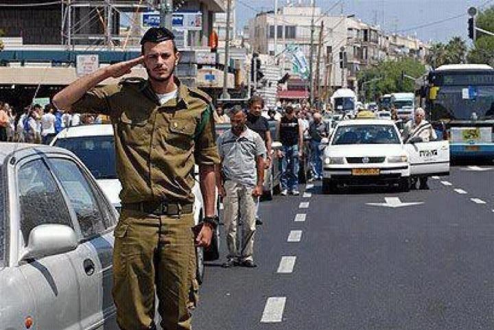 Life comes to a halt during the two-minute siren on Yom HaZikaron, Israel's Memorial day.