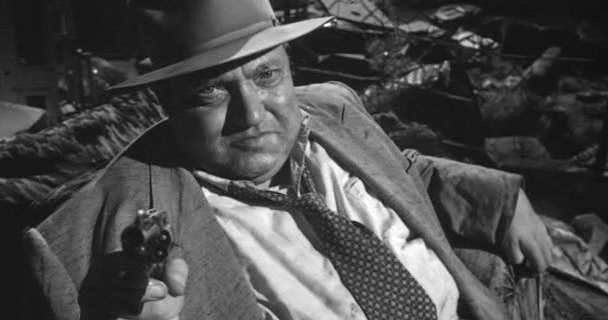 Orson Welles in Touch of Evil, 1958.