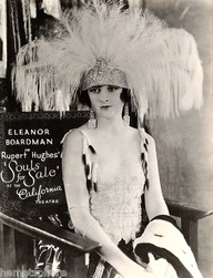 "Eleanor Boardman in ""Souls for Sale,"""
