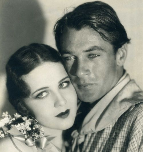 Mary Brian and Gary Cooper, The Virginian (1929), photo by Eugene Robert Richee