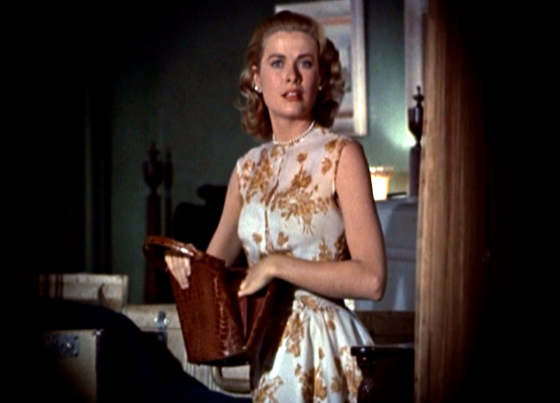 Grace Kelly's flower dress in Rear Window ('54). Costume Desihn by Edith Head.