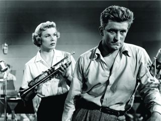 Doris Day and Kirk Douglas, Young Man With A Horn, 1950.