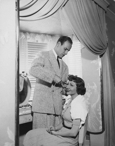 Claudette Colbert's bangs were given to her by Guilaroff.