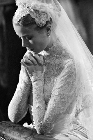 Grace Kelly chose Guilaroff to style her hair for her wedding to Prince Rainier in 1956.