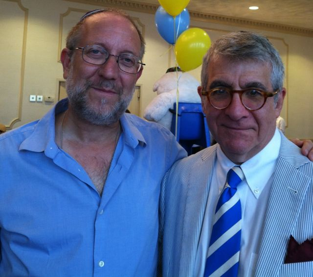 Yossi Klein Halevi with Seraphic Secret's Robert J. Avrech.