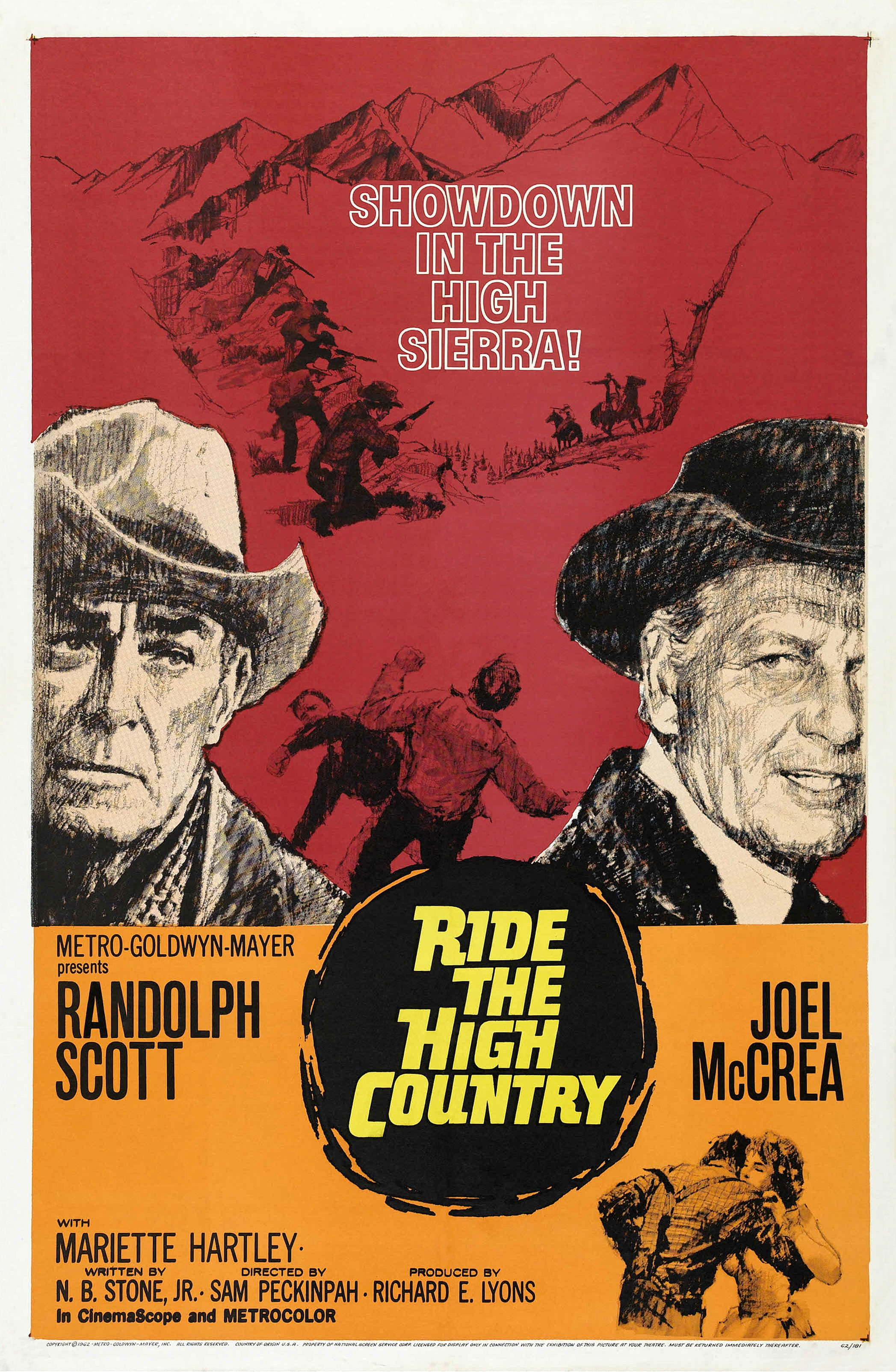 1962 Ride the high country - Duelo en la alta sierra (ing) 01