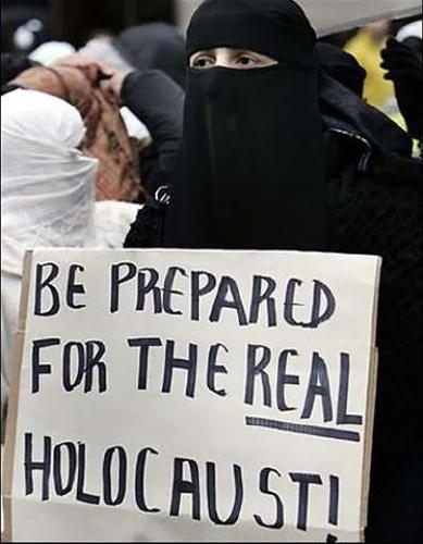 Be-Prepared-for-the-Real-Holocaust sign