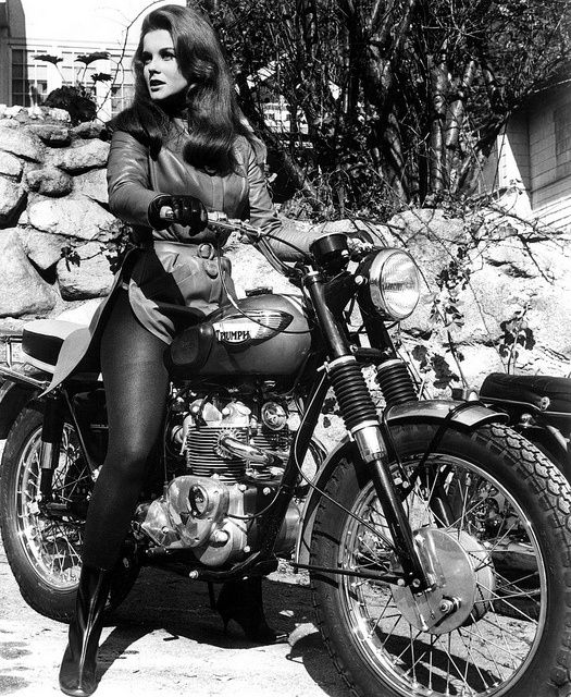 Obviosuly, I did not take this pic of the young Ann Margaret in leather, on a motorcycle. As I said, totally random.