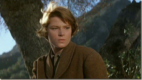 Mariette Hartley gives a wonderful performance as a maiden-in-distress in Ride the High Country.