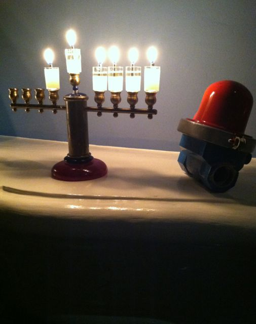 Karen and I wish all our friends and relatives an inspirational Chanukah.