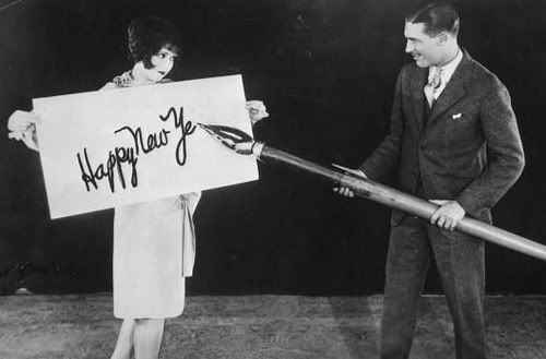 Silent stars Clara Bow and Larry, Taylor, 1925.