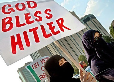 God Bless Hitler Muslims