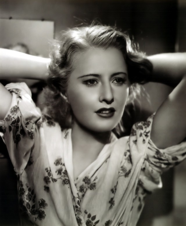 Barbara Stanwyck as Stella Dallas, '37.