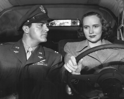 Dana Andrews and Teresa Wright in The Best Years of Our Lives, '48.