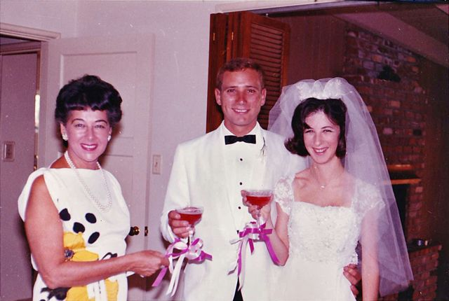 This was at my mother's wedding in 1964.