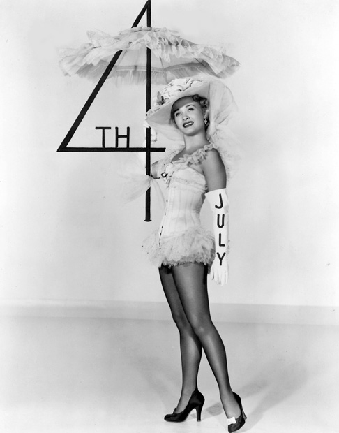 Jane Powell, Hollywood patriot.