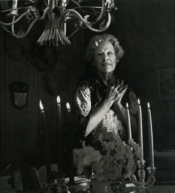 "Esther Ralston in 1981, photo by Horst. From the invaluable book about elderly silent stars, ""Return Engagement"", by James Watters, Photos by Horst."