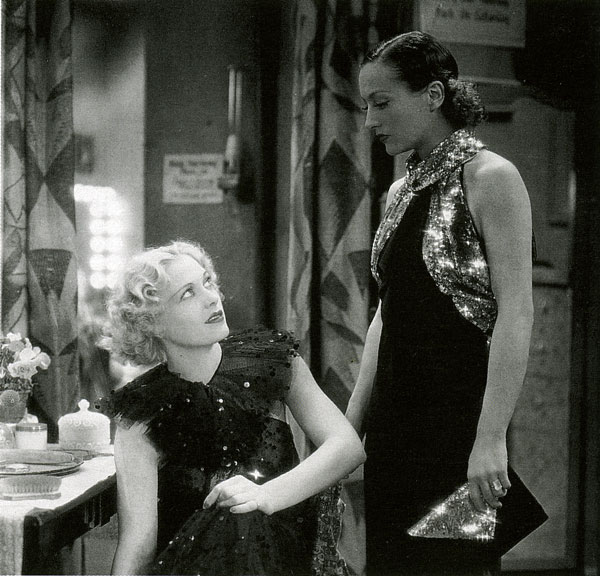 "Esther Ralston and Joan Crawford in ""Sadie McKee"", 1934."