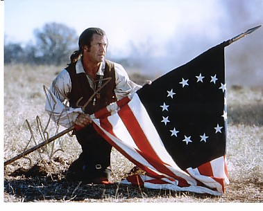 "Mel Gibson in ""The Patriot."""