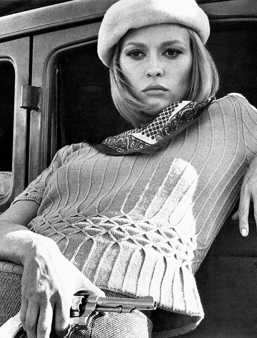 "Faye Dunaway in ""Bonnie and Clyde,"" 1967."