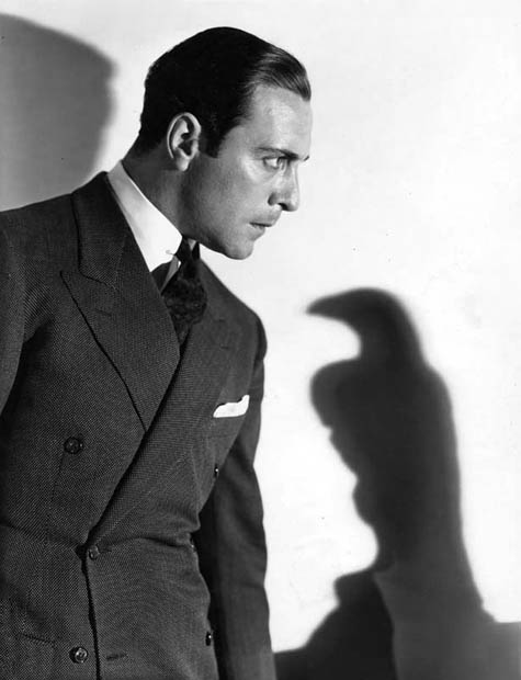 Ricardo Cortez as Sam Spade in The Maltese Falcon, 1931.