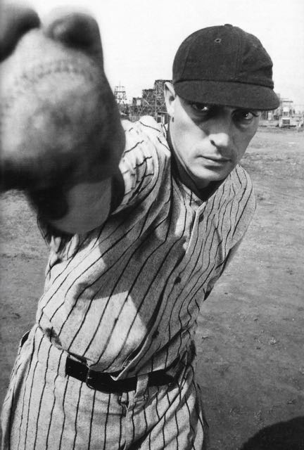 Buster Keaton was a fanatic baseball player. When he had his own production company, he frequently hired staff based on their talent as basebalk  players.