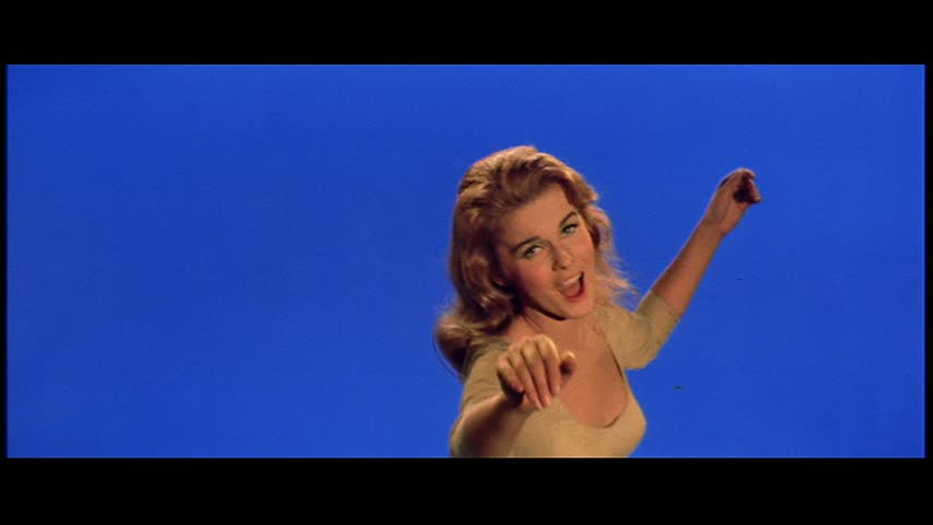 Ann-Margret performs the title song, Bye Bye Birdie.