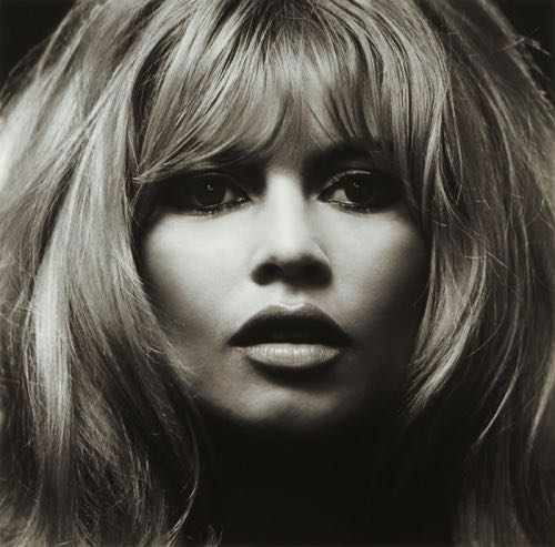 Brigitte Bardot, photo by Douglas Kirkland, 1965.