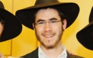 Levi Yitzchak Rosenblat, 22, was stabbed in the neck and abdomen, but is in stable condition.