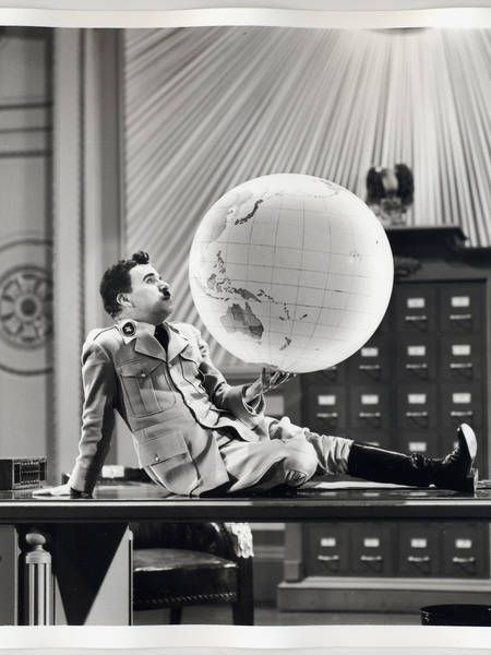 In The Great Dictator, Charlie Chaplin mocked Adolph Hitler. Chaplin understood that humor is a great propaganda tool when fighting evil.