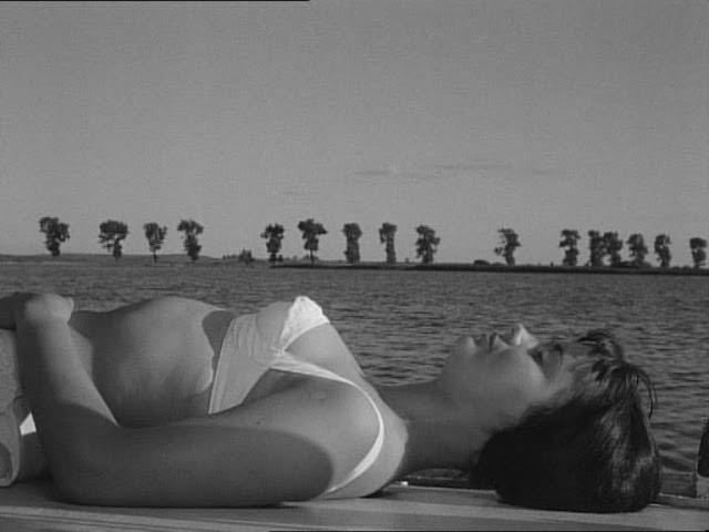 One of the more striking visuals, Jolanta Umecka -Knife in the Water'62.