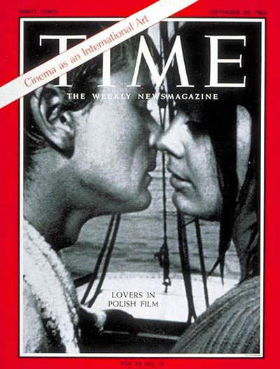 Polanski's film made the cover of the September 20th 1963 issue of TIME Magazine.