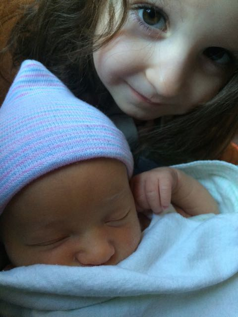 As we said yesterday, Seraphic Secret aspires to optimism. And so, on this first day of 2015, we are not posting about the latest outrage anywhere in the world. We're not even writing about Hollywood's Golden Age. Instead, we're posting this photo of Lielle Meital watching over her infant sister Livia Yarden.
