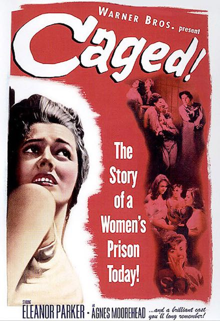 "Eleanor Parker was nominated for an Academy Award for Best Actress for her role in ""Caged""."