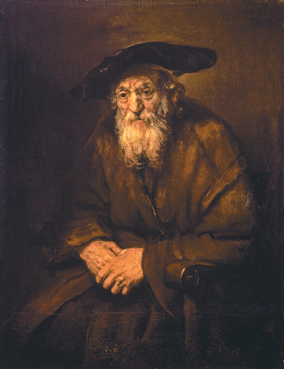 Rembrandt, Portrait of an Old Jewish Man, 1654.