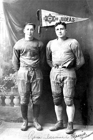 Members of a Jewish Football Team in Minneapolis, 1928.