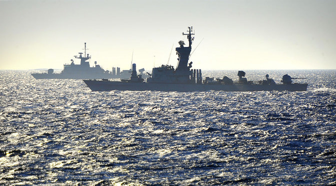 Israel is building up its naval power in order to defend its natural gas reserves.