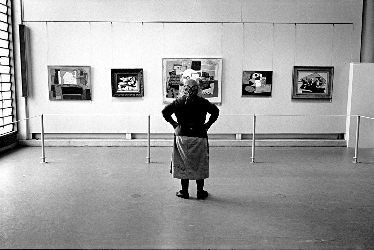 Micha Bar-Am, Picasso exhibit in Tel Aviv, Israel, 1966.