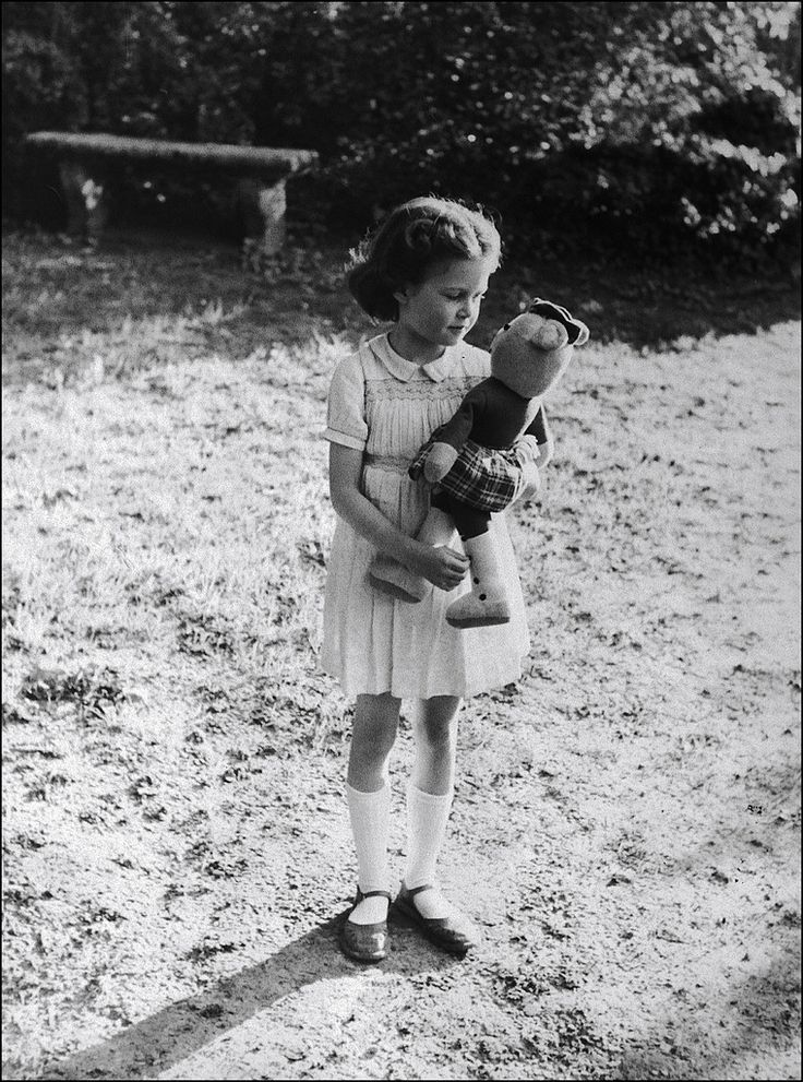 Brigitte Bardot as a child.
