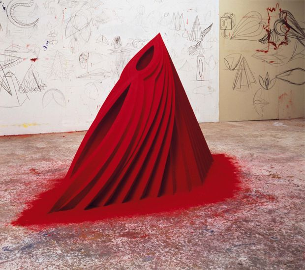 Sculpture by Anish Kapoor, Mother as Mountain.