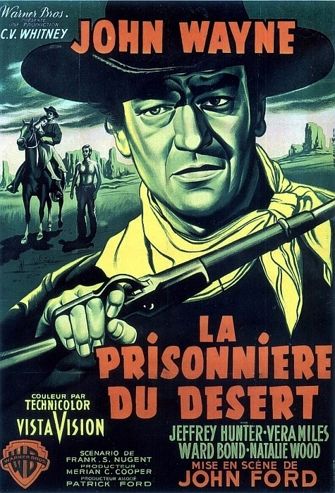 "French poster for ""The Searchers,"" 1956."