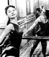 Audrey Hepburn as a young ballet dancer.